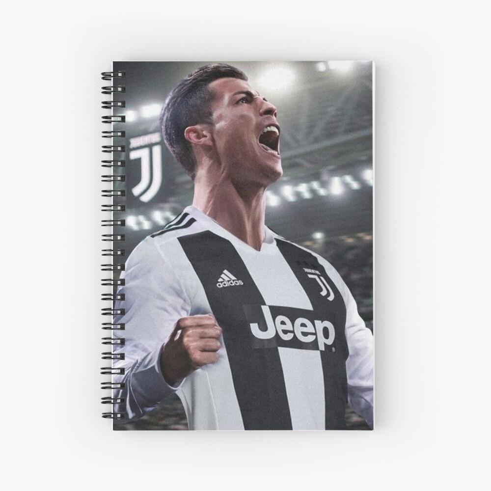 Cristiano Ronaldo Juve CR7 Spiralblock