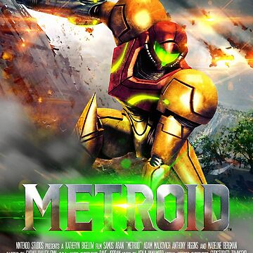 Metroid Movie Poster by Red-Ocelot86