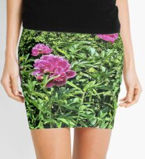 Pink Peonies 2 - Pennsylvania Mini Skirt