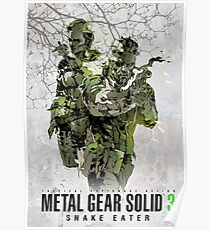 Metal Gear Solid 3 poster Poster