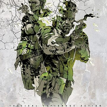 Metal Gear Solid 3 poster by PFCpatrickC