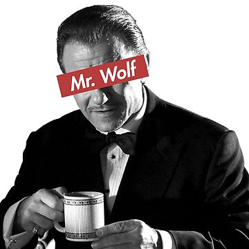 Mr. Wolf Pulp Fiction by AgustiLopez