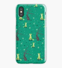 Forest Foxes iPhone Case