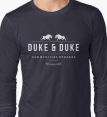 Duke & Duke - Commodities Brokers Long Sleeve T-Shirt