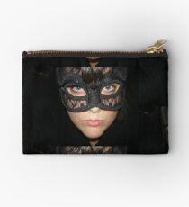 Masked Woman Studio Pouch