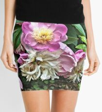 Pink Peonies 4 - Pennsylvania Mini Skirt