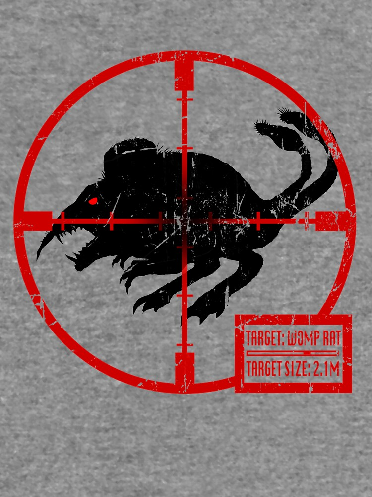 Target Womp Rat Lightweight Hoodie By Smallwolf Redbubble