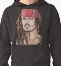 Captain Jack Sparrow Pullover Hoodie
