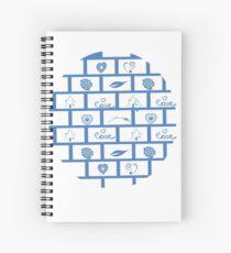Wall Blocks with Wonderful Shaps Tshirt Gift T-Shirt Spiral Notebook