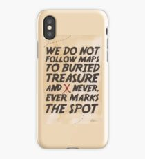 We Do Not Follow Maps iPhone Case/Skin
