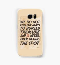 We Do Not Follow Maps Samsung Galaxy Case/Skin