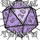 Natural 20! Purple Edition by Dyson Logos