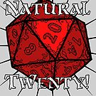 Natural 20! Red Edition by Dyson Logos