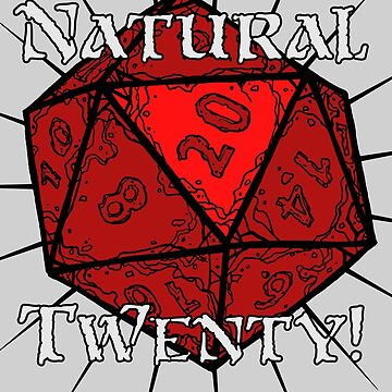 Natural 20! Red Edition by DysonLogos