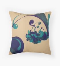Rain Drops Throw Pillow