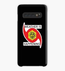 WEATHER IS HAPPENING MERCH Case/Skin for Samsung Galaxy