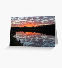 End of day... Currimundi Greeting Card
