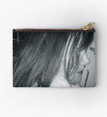 Winter Profile in Black & White Studio Pouch