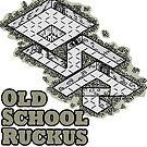 Old School Ruckus by Dyson Logos