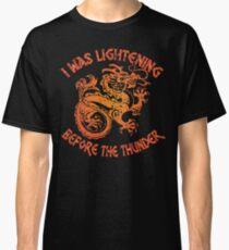 Imagine Dragons T Shirts, I Was Lightning Before The Thunder Shirt, Imagine Dragons Shirt, dragons believer,  Classic T-Shirt