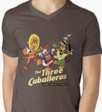 The caballeros, real amigos Men's V-Neck T-Shirt