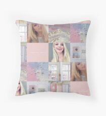 Dove Cameron (collage) Throw Pillow