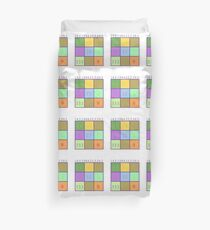 Numerology Duvet Cover