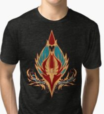 Crest of the Sin'dorei (Style 2) Tri-blend T-Shirt