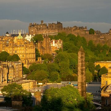 General View of Edinburgh Old Town by emergentdesigns