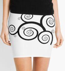 Vine Art Mini Skirt