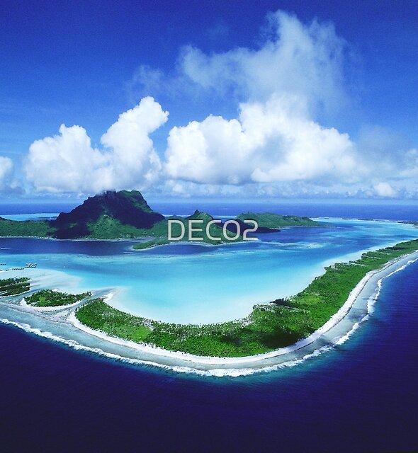 Bora Bora Island by DEC02