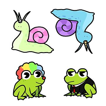 Frogs and Snails by ItsTokish