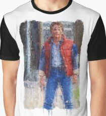 What are you? Chicken? (Marty Mcfly) Graphic T-Shirt