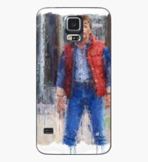 What are you? Chicken? (Marty Mcfly) Case/Skin for Samsung Galaxy