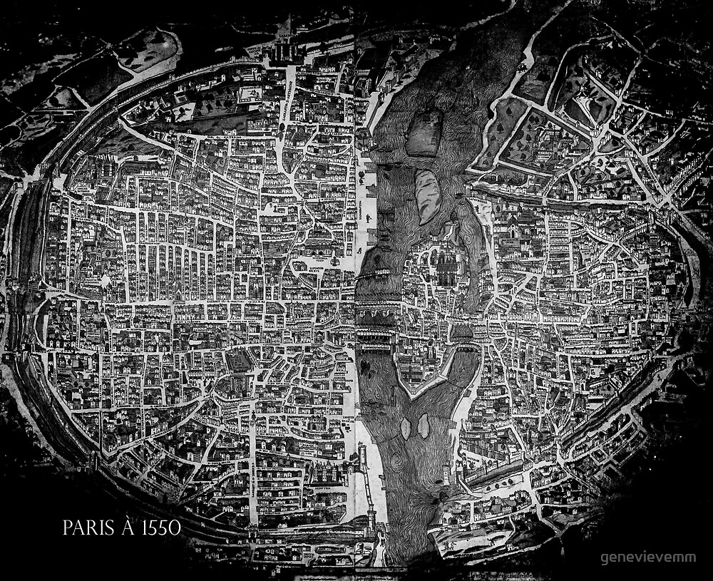 Paris à 1550 by genevievemm