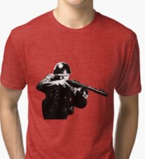 WWII Russian Infantry Tri-blend T-Shirt