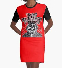 Trump Derangement Syndrome Graphic T-Shirt Dress