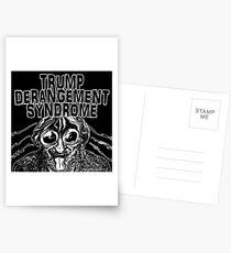 Trump Derangement Syndrome Postcards