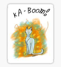 Ka-BOOM! Sticker