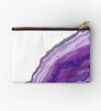 Purple Geode Studio Pouch