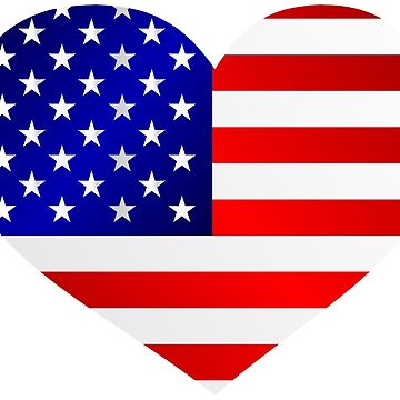 USA - my love and heart by Smaragdas