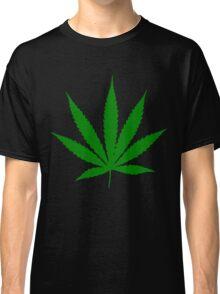 Funny marijuana leaf Classic T-Shirt