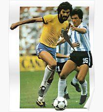 Sócrates, Football Legend Poster