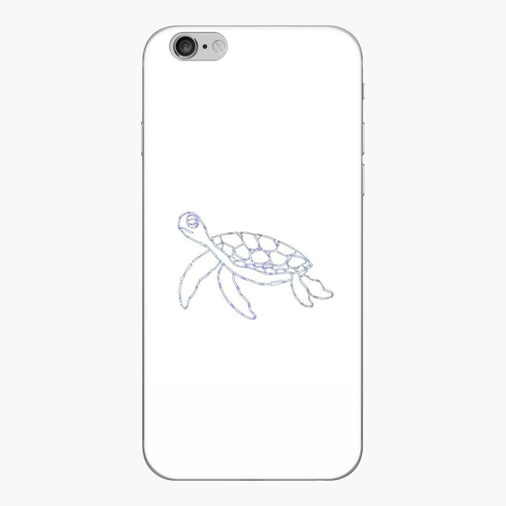 Rette die Schildkröten iPhone Klebefolie
