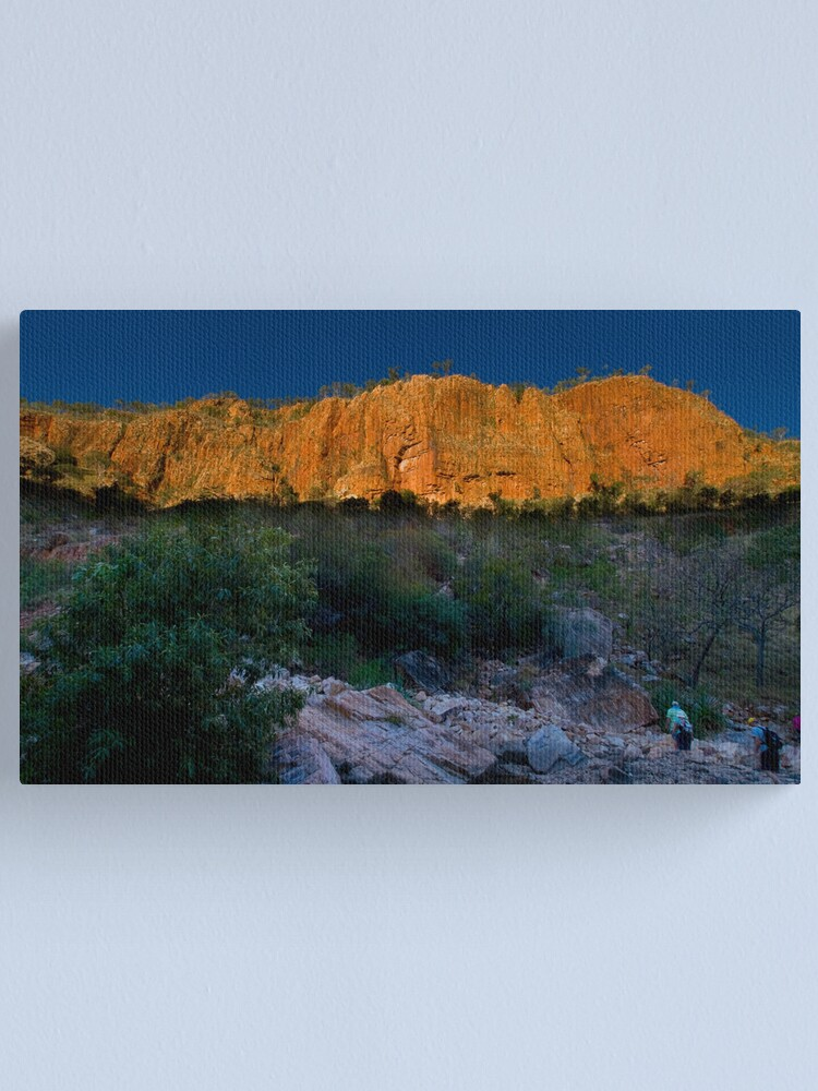 Alternate view of Evening time Canvas Print