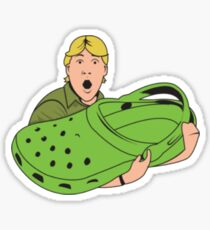 Steve Irwin Crocs Sticker
