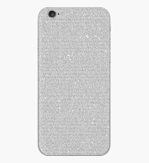 John Mulaney The Comeback Kid Transcript iPhone-Hülle & Cover