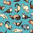 «serpientes gato en azul» de Colordrilos