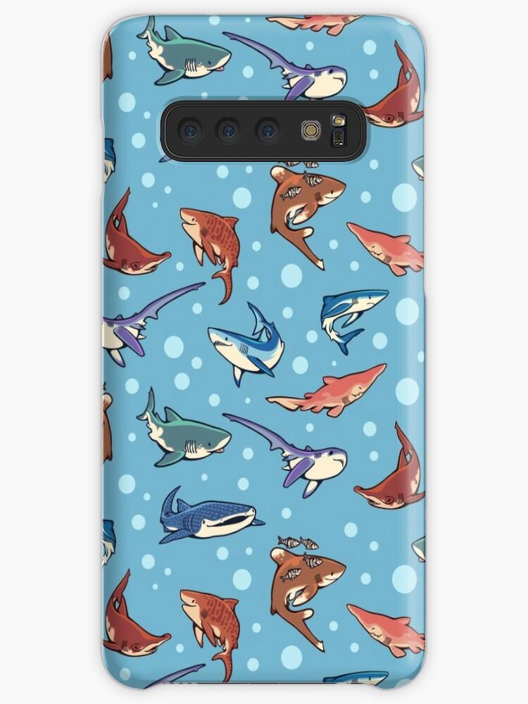 «Tiburones en azul claro» de Colordrilos
