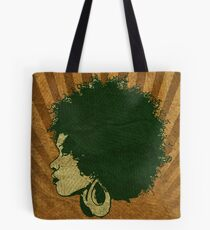Afro Vintage Design Tote Bag